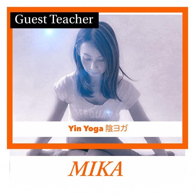 陰ヨガ Mika先生